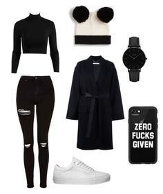 """LD"" by dida99 on Polyvore featuring Monki, Topshop, Givenchy, Vans, CLUSE and Casetify"