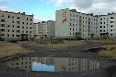 Deserted buildings are always eerie. #Revolution