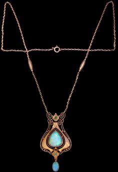 Necklace pendant by Murrle Bennett & Co.