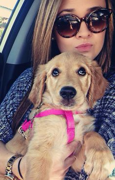 When your dog is fresher than you. #GoldenBaby #AutumnOlivia