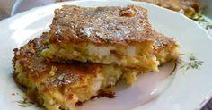 Ελληνικές συνταγές για νόστιμο, υγιεινό και οικονομικό φαγητό. Δοκιμάστε τες όλες Greek Recipes, Veggie Recipes, Veggie Meals, Pastry Art, Pie Dish, Lasagna, Feta, Tart, French Toast