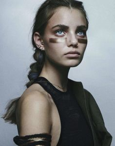 The Libertine Magazine.Metal Rebel. Kristine Froseth By Charlotte Wales For Nylon Magazine .January 2013.66