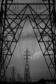 One of the big challenges of landscape photography is incorporating elements into a landscape that you perhaps might prefer were not there. One of the common visual pollutants in our world is power lines running through pristine country. We think these ph Shape Photography, Landscape Photography Tips, Urban Photography, Abstract Photography, Artistic Photography, Landscape Photographers, Street Photography, Photography Ideas, Scenic Photography