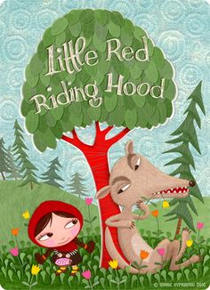 petit chaperon rouge / little red riding hood