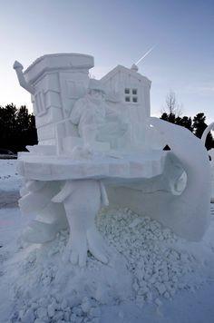Breckenridge International Snow Sculpture Championships 2013