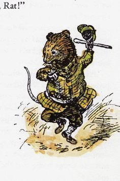 wind in the willows ratty - Google Search