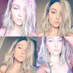 Perrie Edwards' new hairstyle