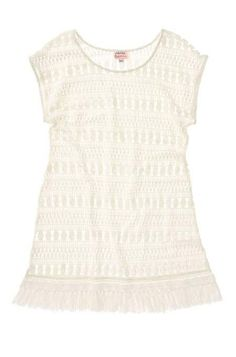 This adorable lace tunic is the perfect beach coverup! With a boat neck and fun fringe details, you are sure to stay on-trend. Only from Stella & Dot.  Link to shop is in my profile!  www.stelladot.com/sarahtaliaferro