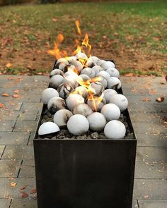 season is in full swing! Fire Pits, Patio Design, Landscape Design, Outdoor Living, Backyard, Seasons, Campfires, Outdoor Life, Patio