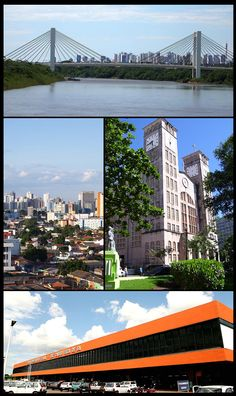 Cuiabá, capital do estado do Mato Grosso