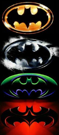 Batman logos 1987 -1997