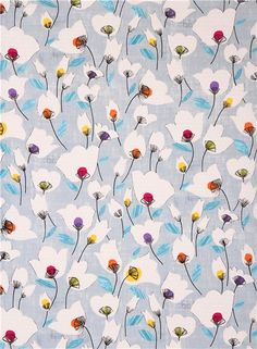 Hoop Art inspiration. I'm wondering if I could embroider flower petals on flower petals on fabric such as this! ;) Mo
