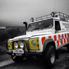Our landrover ambulance DART62