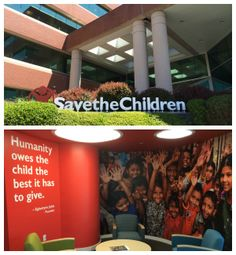 """""""Humanity owes the child the best it has to give."""" -Eglantyne Jebb  Today is our first day in our new USA headquarters in Fairfield, CT. We are excited for our new home where we will continue our work to save children's lives. #SaveKids"""