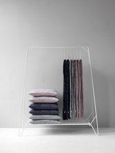 Anker Rack by  Rain cushions by Signe Hytte & Kristina Kjær
