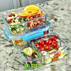Pack your healthy homemade meals in these top quality glass food containers. 1- 2- and 3-Compartment Containers are available at: www.amazon.com/fitstrongandhealthy or www.fit-strong-healthy.com  Want to see healthy recipes? Follow us on Instagram: @iamfitstronghealthy