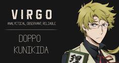 anime, bungou stray dogs, and kunikida doppo image