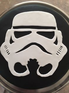8th birthday storm trooper cake for Dominic