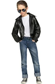 T-Bird Gang Child Jacket #Halloween #costumes #tbirds #grease #50s