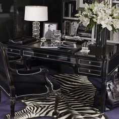 Ikea sleek black gloss desk besta burs range still has - Protector escritorio ikea ...