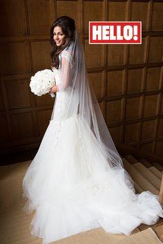 Michelle Keegan talks wedding dress in HELLO! magazine interview