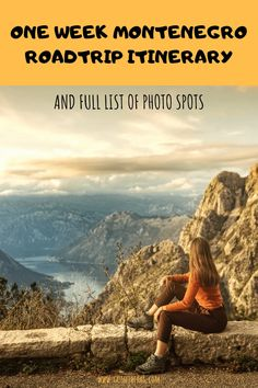 Most Photogenic Spots on a One Week Montenegro Itinerary Travel Tips For Europe, Backpacking Europe, Travel Destinations, Cool Places To Visit, Places To Go, Montenegro Travel, Thing 1, Destin Beach, Famous Places