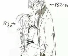 Tall boys VS short girls by eleerre14 on We Heart It