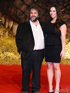 Peter & Katie Jackson - Celebrities Attend 'The Hobbit: The Desolation Of Smaug' Premiere In Berlin