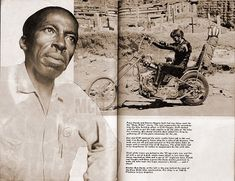 BEN HARDY, born Benjamin F. Hardy, was an African-American motorcycle engineer and chopper builder, who is best known for creating the customized choppers for the characters 'Captain America' and 'Billy' Bike choppers for the movie Easyriders.