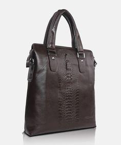 Bag GA 83532 brown Giorgio Agnelli Men's leather bag Men's Leather, Men's Fashion, Brown, Bags, Moda Masculina, Handbags, Mens Fashion, Man Fashion, Leather Men
