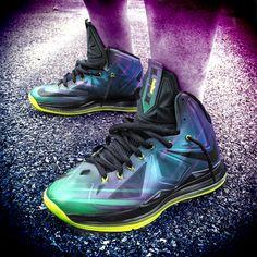 hot sale online 5a21d bc267 Nike LeBron X Phantom Customs by Mache Best Looking Shoes, Phantom, Nike  Logo,