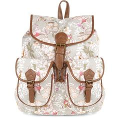 Accessorize Pretty Rose Floral Backpack