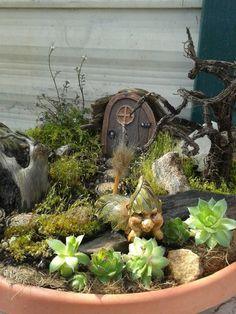 My favorite fairy garden! :)