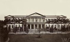 Marc Ferrez - Casa da Moeda - 1890 - Praça da República
