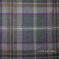 Lomond Grey Tweed Package - Choose Your Tartan