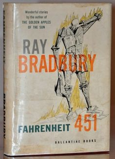 First-edition Fahrenheit. If you vacuum your sofa cushions and find, like, twenty grand, pick this up for me at your nearest super rare book vault.