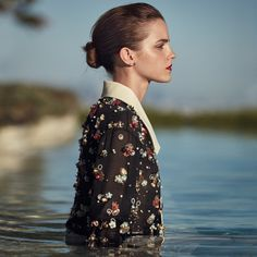 Emma Watson by Cass Bird for Porter Magazine Winter Escape 2015