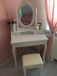 Vanity, Vintage, Furniture, Home Decor, Vanity Area, Homemade Home Decor, Lowboy, Dressing Tables, Home Furnishings