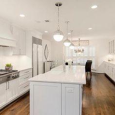 Long Kitchen Island With Hudson Valley Lighting Lambert Pendant Get A Closer