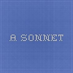 a sonnet