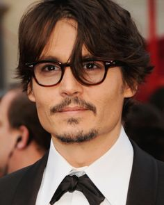Johnny Depp - Buddy Holly Glasses by dcapistrano, via Flickr