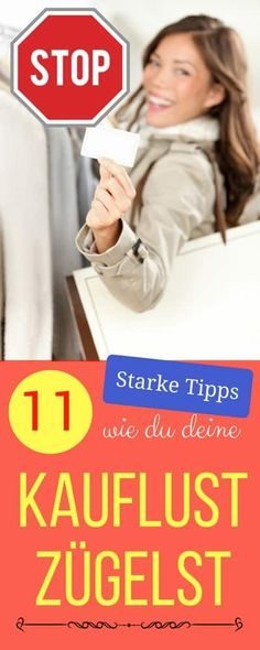 Was kann man gegen Kaufrausch tun? Meine 11 persönlichen Tipps wie du deine Kauflust zügelst | Haushaltsfee.org