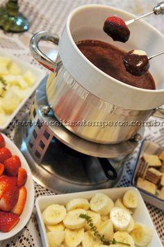 Fondue de Trufa e Chocolate | Receitas e Temperos