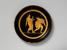 Attributed to Paseas | Terracotta plate | Greek, Attic | Archaic | The Met