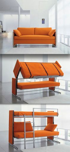 Doc Sofa Bunk Bed Unit Convert With One Simple Movement Into Two Everyday Beds