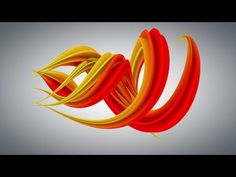Cinema 4D Tutorial - How to make an Abstracts using particles in Cinema 4D - YouTube
