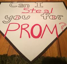 Sports Promposal for a guy