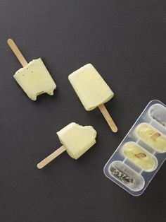 Avocado and Coconut Water Popsicles