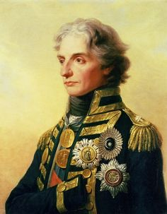 Portrait of Lord Horatio Nelson by Friedrich Heinr | The Fine Art Masters