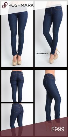 COMING SOON⭐️Misses Dark Was Skinny Jeans Sleek & Sexy Dark Wash Skinny Jeans Coming Soon!! More details available shortly. Jeans Skinny